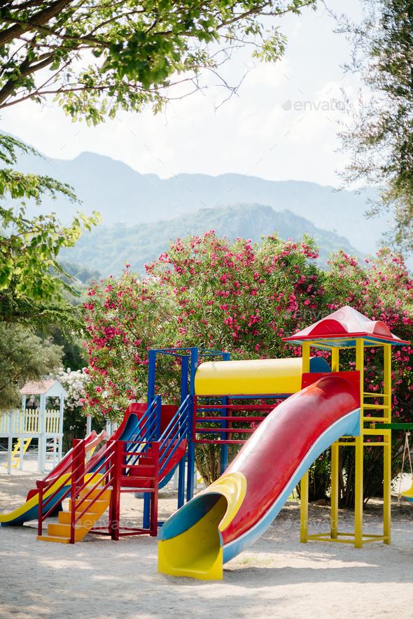 Children Playground - Stock Photo - Images