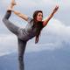 woman yoga pose outside - PhotoDune Item for Sale