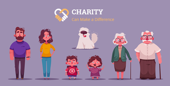 Charity – Nonprofit Charity System with Website