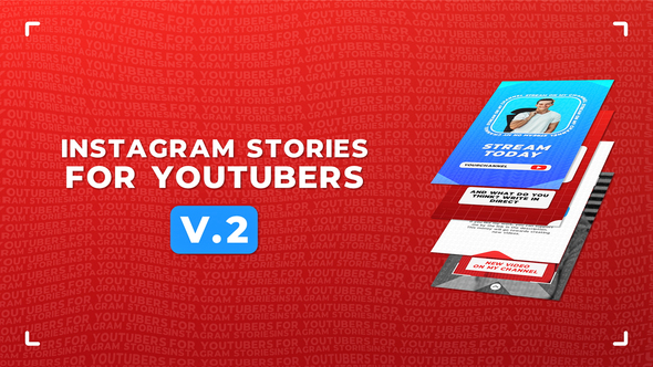 Instagram Stories For YouTubers v.2