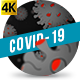 Cartoon Coronavirus Dark - VideoHive Item for Sale