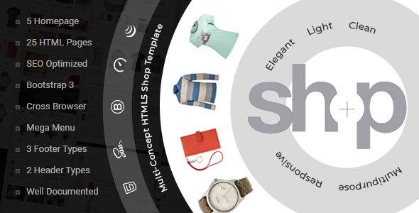 Good Shop — e-Commerce HTML Template