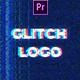 Noise Glitch Logo Mogrt