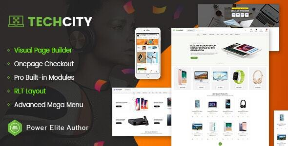 TechCity – The Premium Digital, SaaS, Apps & Electronics Opencart 3 Theme