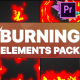 Burning Elements | Premiere Pro MOGRT