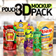 Pouch 3D Mockup Pack - VideoHive Item for Sale