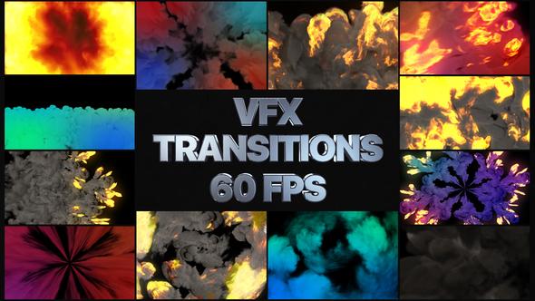 VFX Transitions | Premiere Pro MOGRT