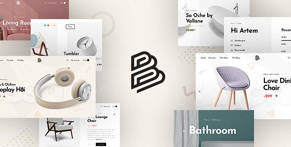 Barberry - универсальная тема WooCommerce