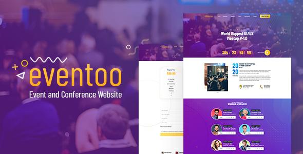 Eventoo - Event HTML Template