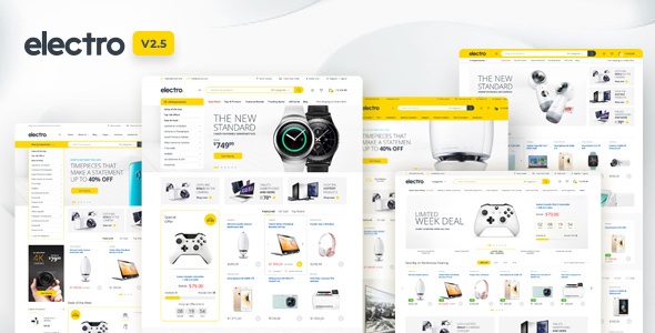 Excellent Electro Electronics Store WooCommerce Theme