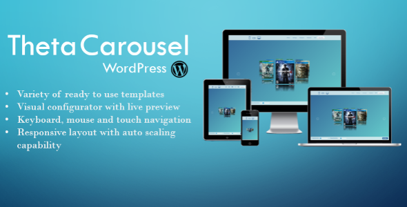 Download Theta Carousel 3D WP Free Nulled