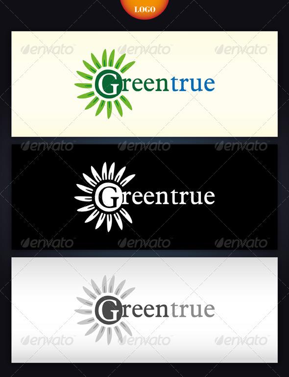 GreenTrue Logo - Nature Logo Templates