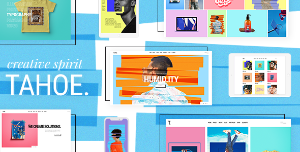 Tahoe - Portfolio Theme for Creatives and Freelancers