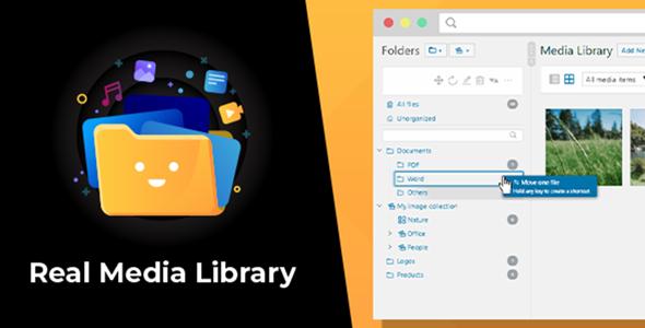 WordPress Real Media Library: Folder & File Manager for WordPress Media Management Nulled
