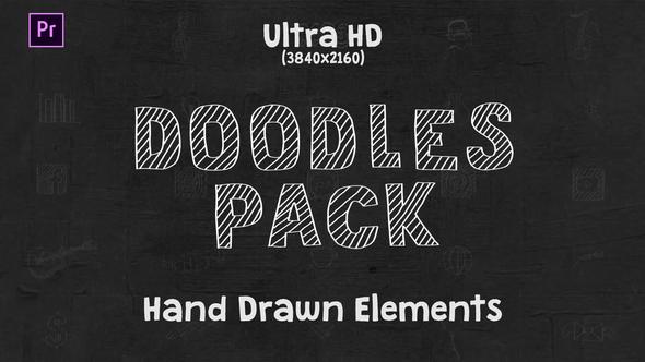 Doodles Pack || MOGRT for Premiere Pro