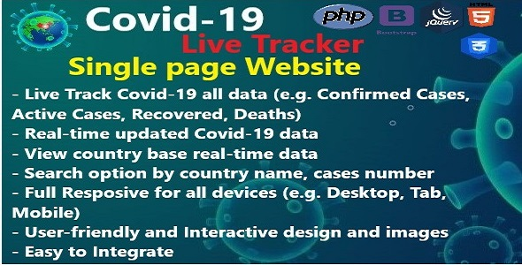 Download Covid-19 Live Tracker Free Nulled