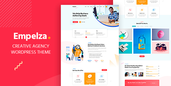 Empelza - Creative Agency & Portfolio WordPress Theme