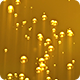 Underwater Bubbles Rising with Light Rays - Golden Yellow Background - VideoHive Item for Sale