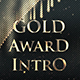 Gold  Award Intro - VideoHive Item for Sale