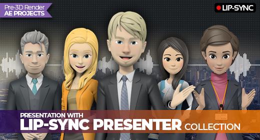 Lip-Sync Presenter