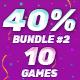Bundle #2 | 20 HTML5 Games | Construct 2 | Construct 3 | Capx | C3p