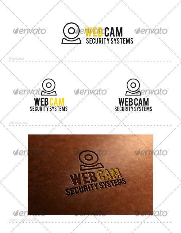 Web Cam Logo - Vector Abstract