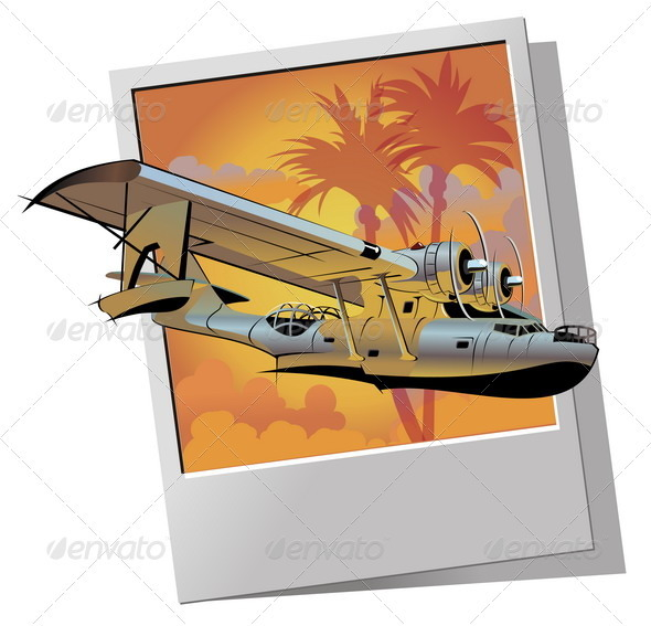 Retro Seaplane - Retro Technology