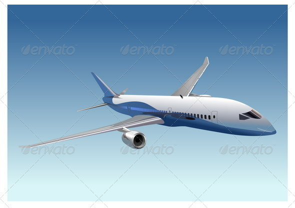 Boeing 787 Dreamliner - Man-made Objects Objects