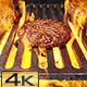 Grilled Barbecue Burgers - VideoHive Item for Sale
