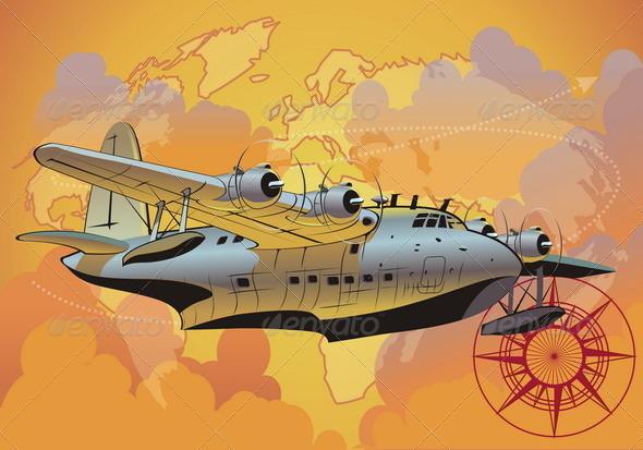 Retro Seaplane - Retro Technology