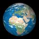 earth planet globe black background - PhotoDune Item for Sale