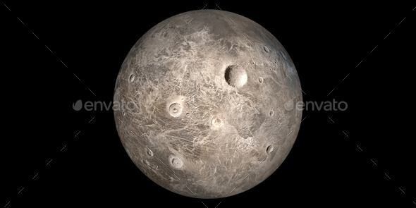 Ceres asteroid dwarf planet - Stock Photo - Images