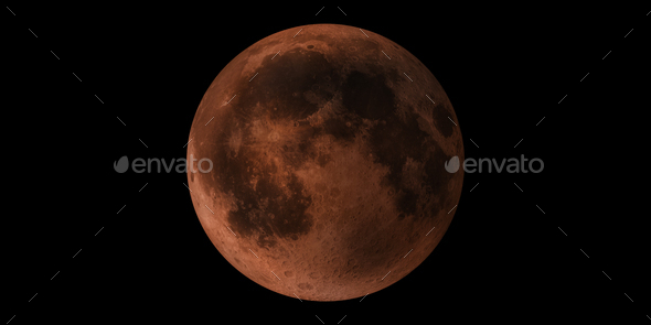 Blood Moon - Stock Photo - Images