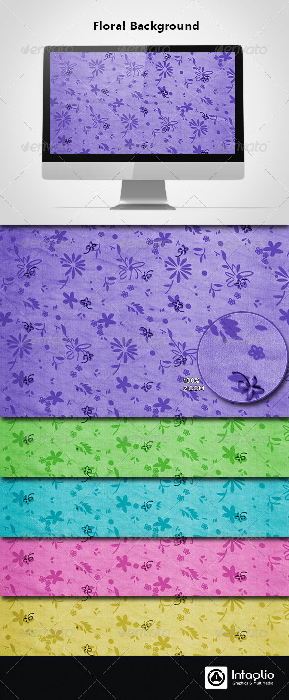 Floral Background 16 - Backgrounds Graphics