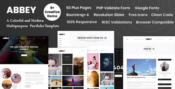 Abbey - Responsive Multi-Purpose HTML5 Template
