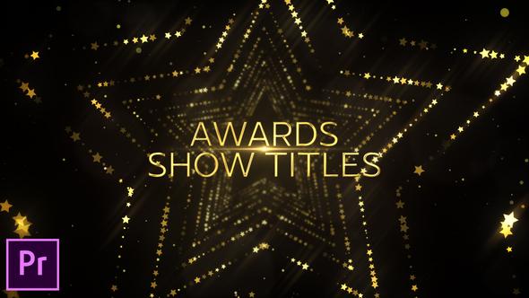 Star Awards Opener – Premiere Pro