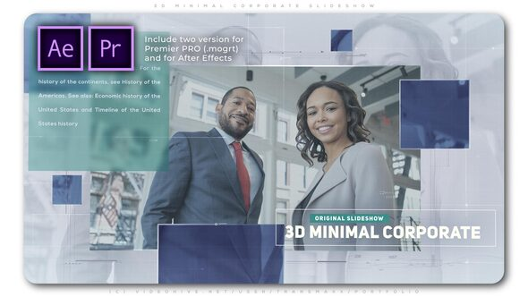 3D Minimal Corporate Slideshow