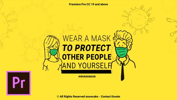 Coronavirus Animation Stay Safe For Premiere Pro