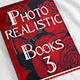 Photorealistic Books Mockups, Vol. 3 - GraphicRiver Item for Sale