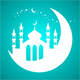 Happy Ramadan Intro Logo