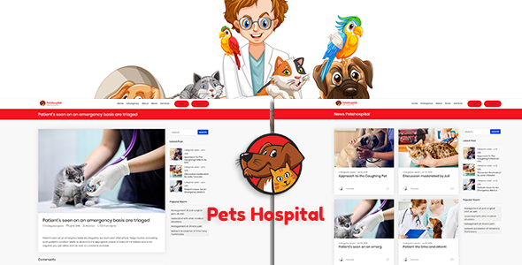 Petshospital – Hospital Management System with Website