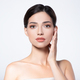 Beautiful face of young woman with health fresh skin. - PhotoDune Item for Sale