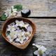 Jasmine flowers and spa stones - PhotoDune Item for Sale