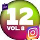 12 Instagram Stories Vol. 8 - VideoHive Item for Sale