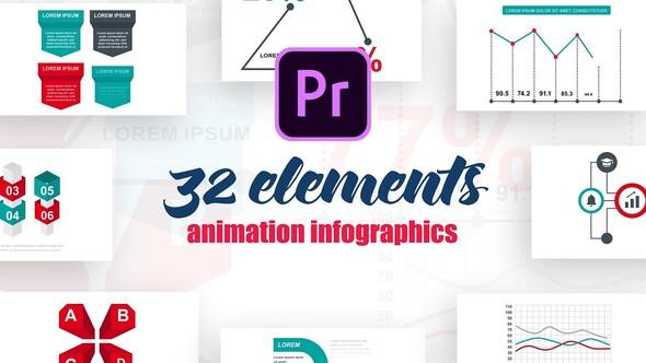 Infographics Vol.15 for Premiere Pro