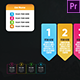 Infographic Colorful Lists-Premiere Pro