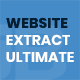 Website Extract Ultimate - Extract content & scripts of websites