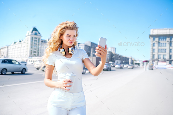 Coffee and me. - Stock Photo - Images
