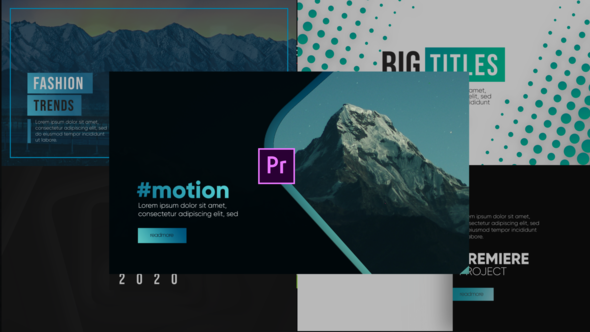 Modern Typography-Premiere Pro