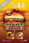 01 fast food flyer template preview.  thumbnail